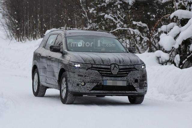Renault : le nouveau SUV sept places se promène
