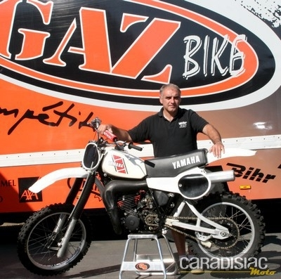Interview de Vincent Lemonnier, boss du magasin Gaz Bike à Marigny (50).