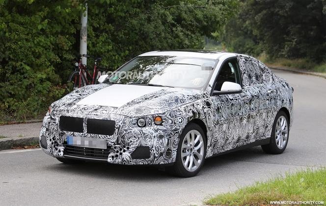 Surprise : une BMW Série 1 berline en approche