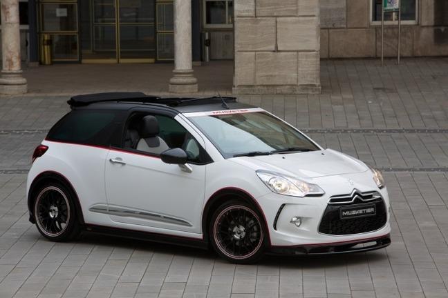 Musketier Citroën DS3 Cabrio : un tuning discret