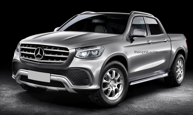 Mercedes : un pick-up en préparation pour le Mondial de l'Auto 2016