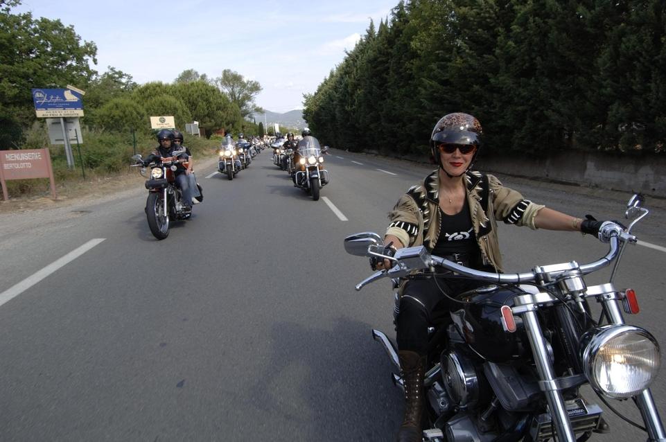 Harley-Davidson EuroFestival: En Mai, du côté de St Tropez