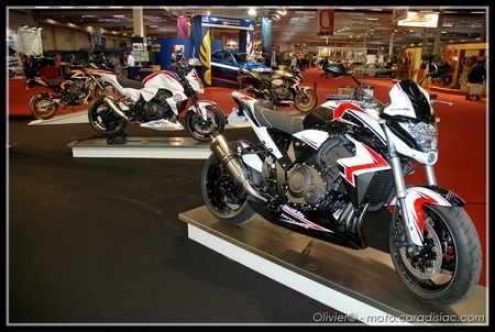 PTS 2009 en direct : Trois Honda CB1000 R par Center Bike