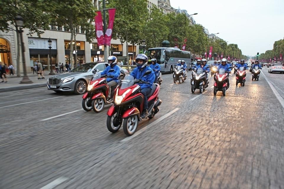 MBK : des Tryptiks déambulent dans les rues de Paris