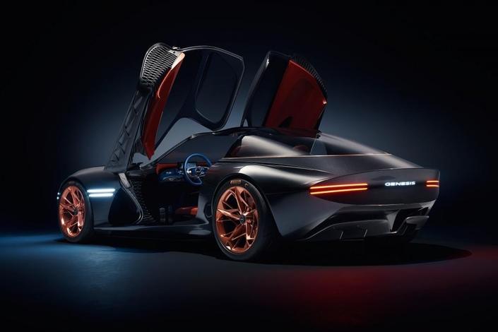 Salon de New York 2018 : Genesis (Hyundai) dévoile le concept électrique Essentia