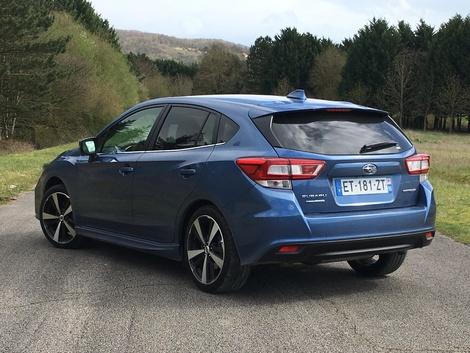Subaru Impreza (2018) - Les premières images de l'essai en live + impressions de conduite