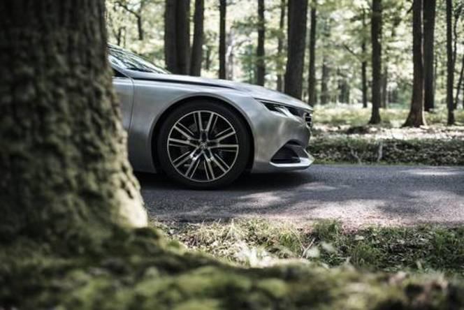Le concept Peugeot Exalt à Chantilly ce dimanche 7 septembre