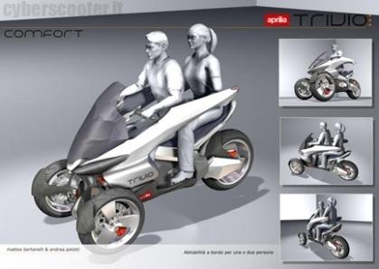 "Prototype  : le ""Trivio"" par Aprilia"