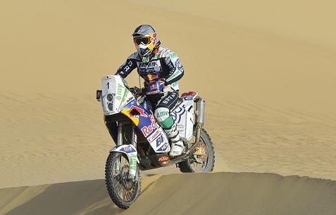 Rallye des Pharaons : 6ème étape, Coma l'emporte devant Lopez, 1er 450