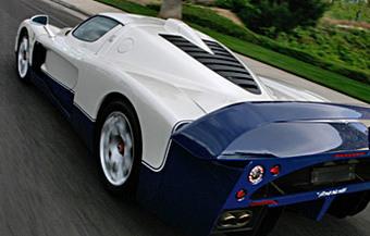 Maserati s'invite dans les Ring' Folies : 7'24''29 pour la MC12