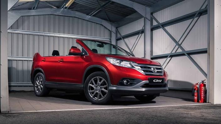 Honda dévoile un inédit CR-V cabriolet