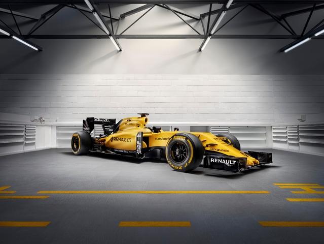 Renault dévoile la livrée finale de sa F1
