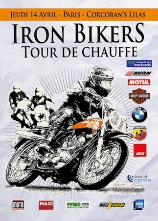 Tour de Chauffe Iron Bikers: le 14 avril au pub parisien le Corcoran's