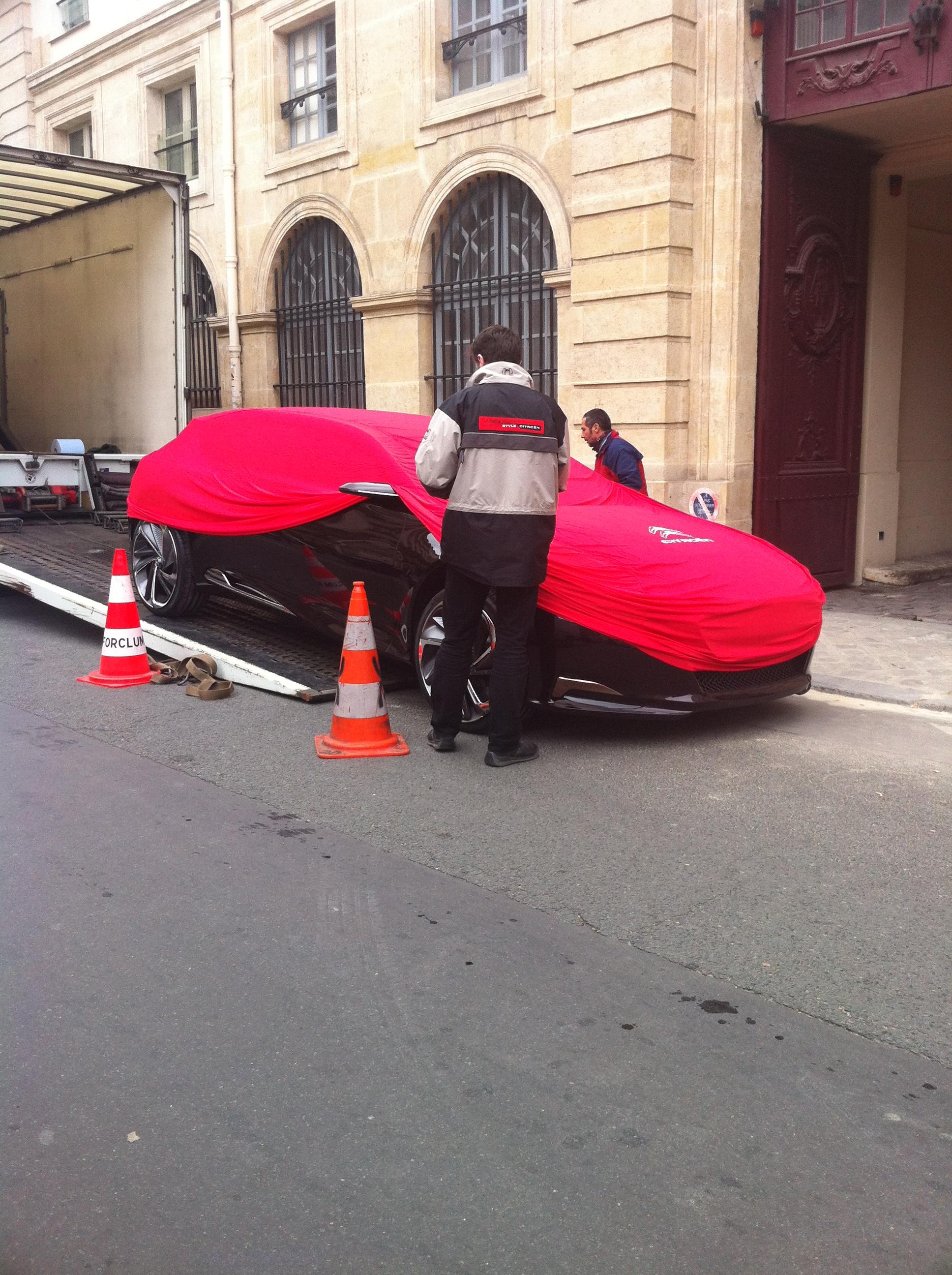 La Citro N Ds9 Se D Couvre Dans Paris
