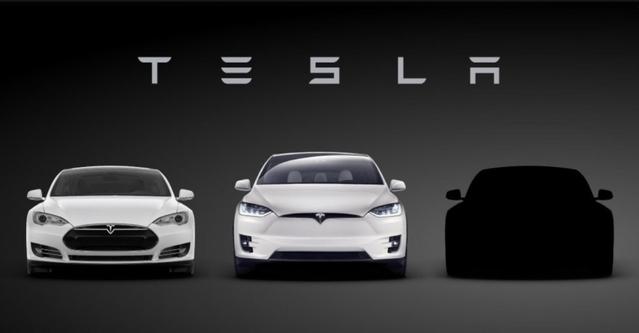 Tesla montre la silhouette de la Model 3