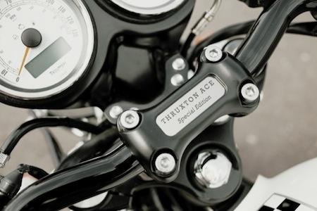 Nouveauté 2015: Triumph Thruxton Ace Edition Spéciale (video)