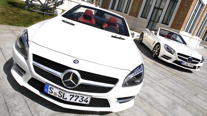 Essai Mercedes  Sl