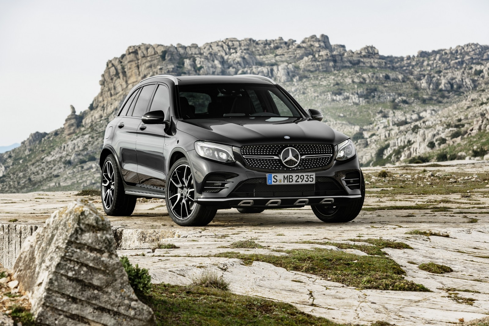 Mercedes Devoile Le Glc 43 Amg