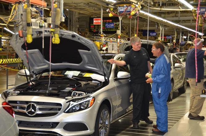 Mercedes marche fort aux USA et agrandit son usine