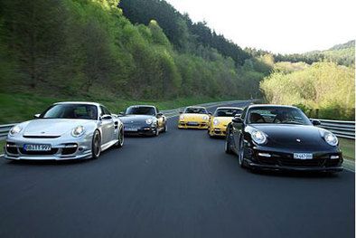 Mega-test: 5 Porsche 911 Turbo tunées sur le grill