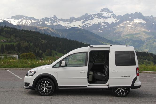 Volkswagen Cross Caddy : en avant-première, les photos de l'essai