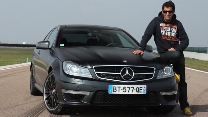 Les essais de Soheil Ayari : Mercedes C63 AMG Coupé