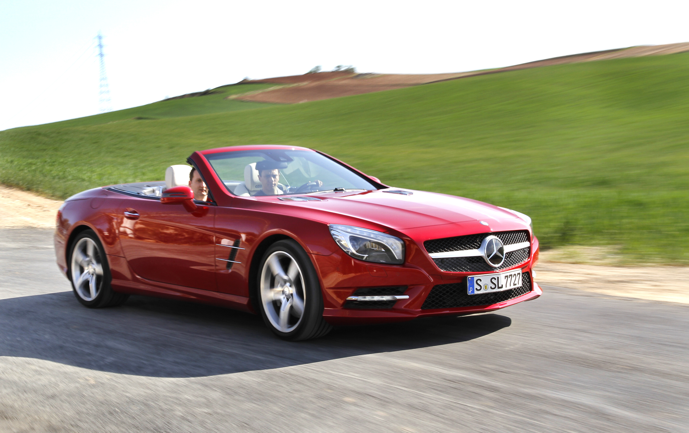mercedes sl 500 r231 la tentation du sport. Black Bedroom Furniture Sets. Home Design Ideas