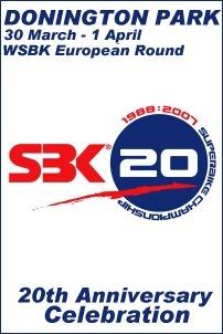Superbike: Le programme des 20 ans à Donington