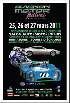 Agenda - 25/27 mars : Avignon Motors Festival, Matra à l'honneur (entre beaucoup d'autres)