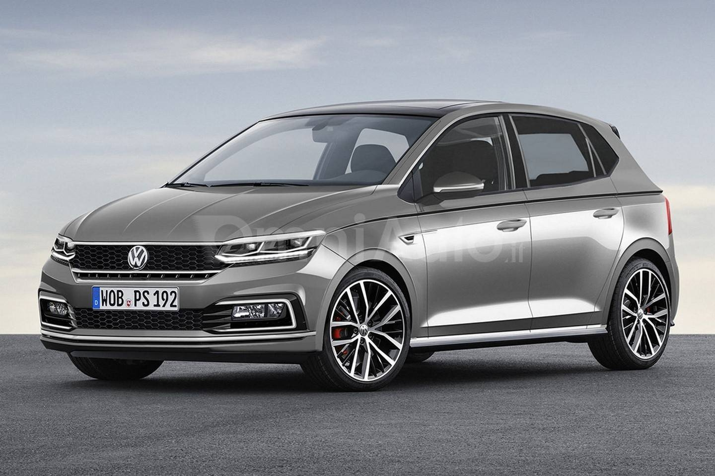 Design Un Graphiste Imagine La Future Volkswagen Polo