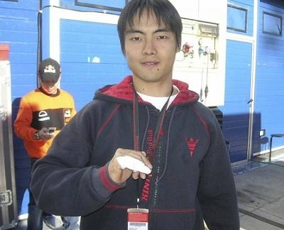 250: Jerez: Aoyama n'écoute pas son petit doigt