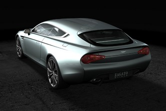 Zagato dévoile l'Aston Martin Virage Shooting Brake