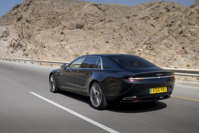 Nouvelle Aston Martin Lagonda: les photos officielles d'un prototype de validation finale
