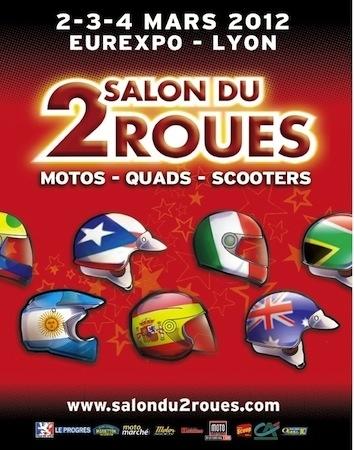 Salon 2 roues de Lyon 2012: les 2, 3 et 4 mars prochain