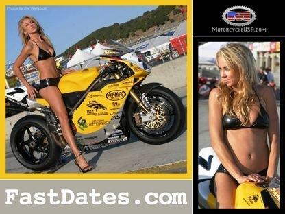Moto & Sexy : miss Fast Date