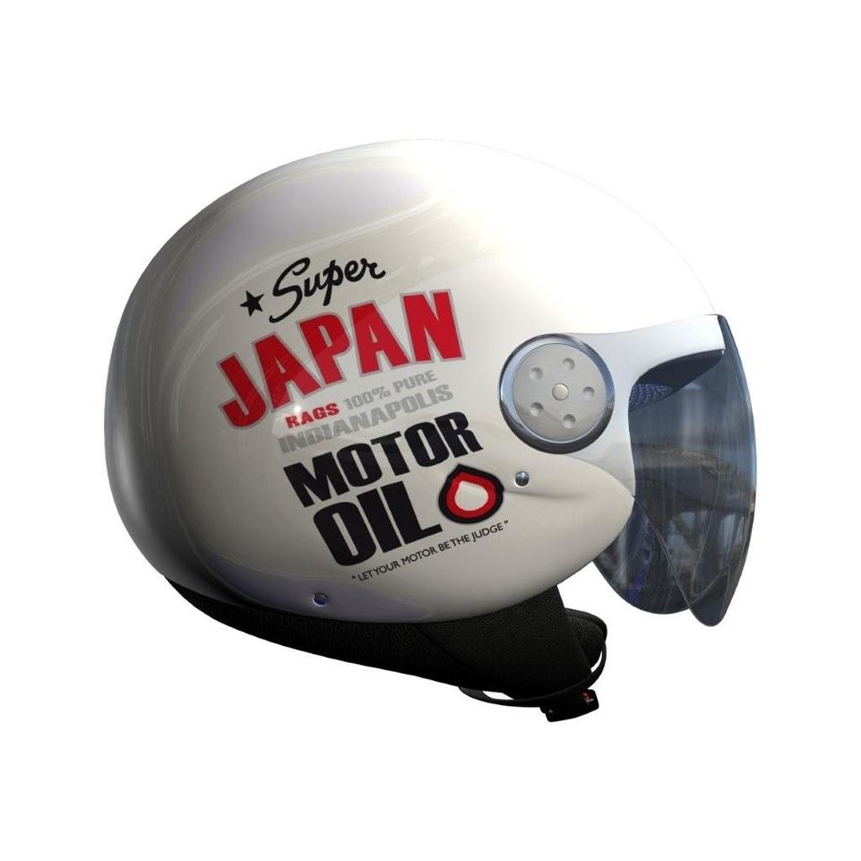 La déco Oil arrive, pour 2010, chez Japan Rags.