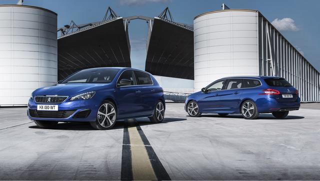 Peugeot dévoile les  308 GT 205 et GT 180
