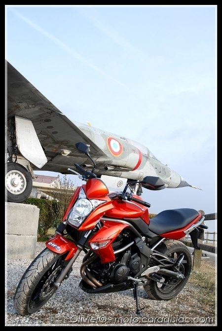 Essai - Kawasaki Er-6n ABS 2009 : Léger repoudrage...