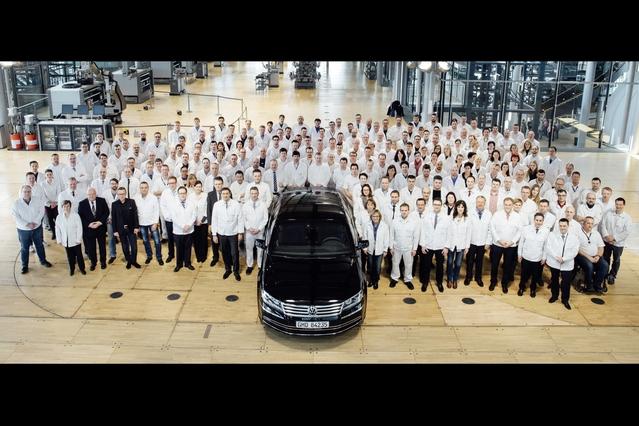 Clap de fin pour la Volkswagen Phaeton