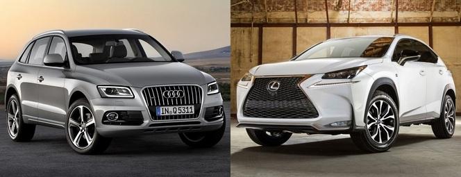 Match du Mondial : Lexus NX ou Audi Q5 ?