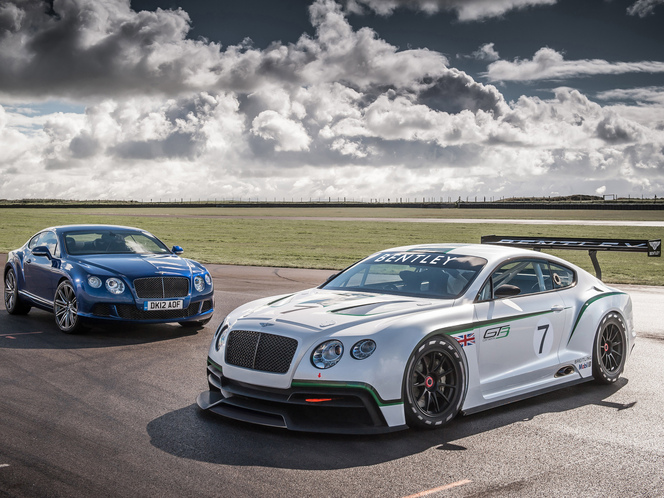 Bentley Continental GT3 : un allègement de 1000 kg !