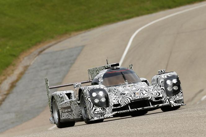 La future Porsche LMP1 se dévoile... un peu