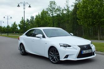 Lexus IS 300h : en avant-première, les photos de l'essai