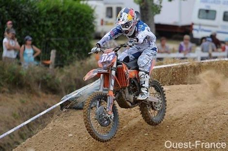 MXF - Chateau-Gontier : Livia Lancelot championne de France 2010