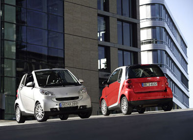 Nouvelle Smart Fortwo Cdi: frugal cube