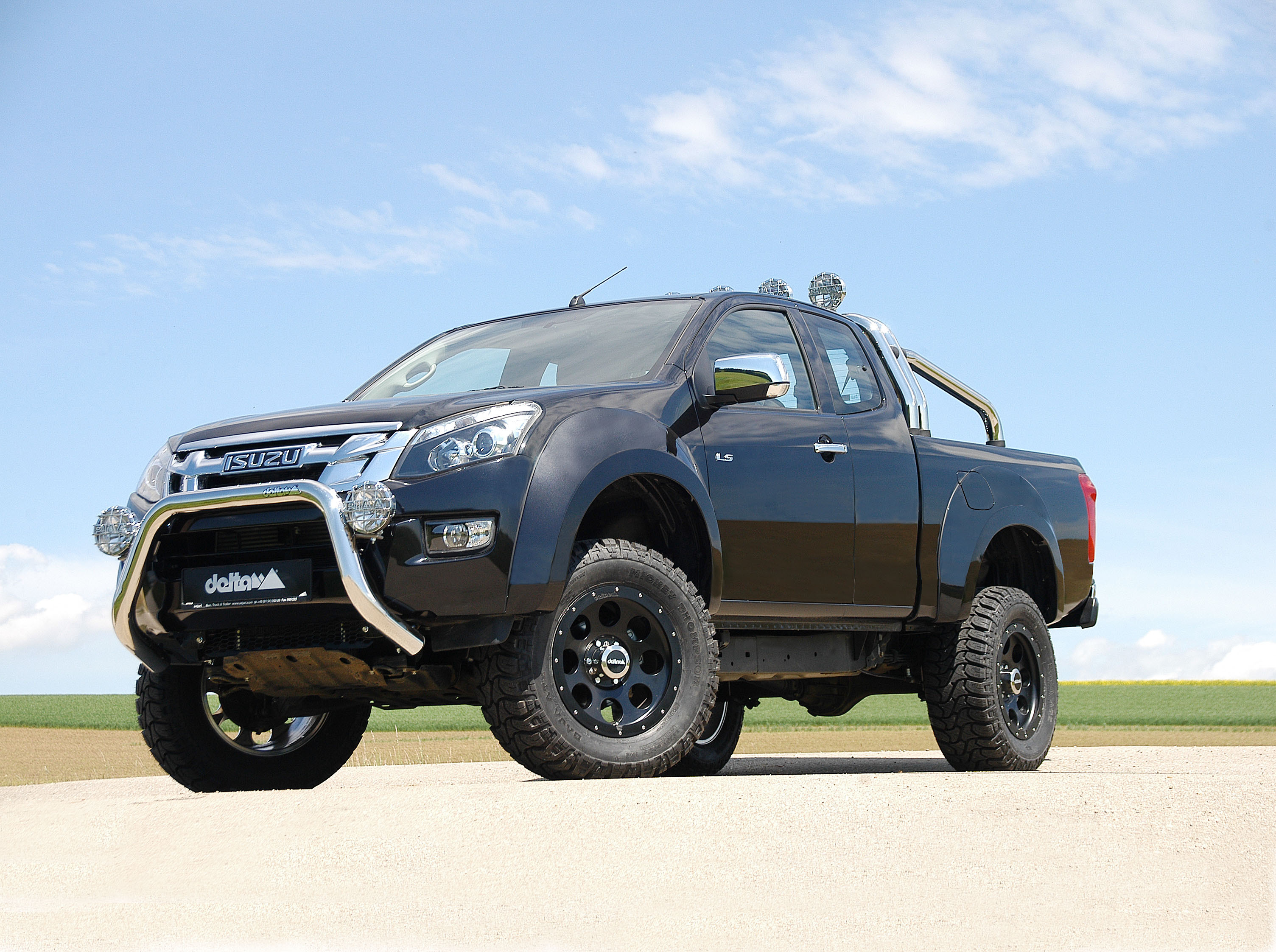 isuzu d max par delta 4x4 le off roader. Black Bedroom Furniture Sets. Home Design Ideas