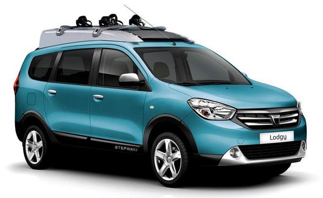 Mondial de Paris 2014 - Dacia Lodgy Stepway: une 1ère photo dévoile un Lodgy métamorphosé!