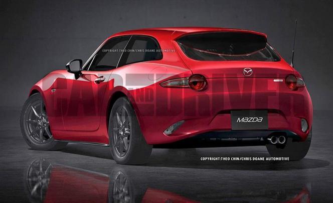 Pourquoi pas une Mazda MX-5 shooting brake ?