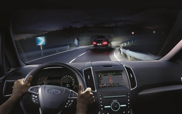 Ford détaille son éclairage LED intelligent