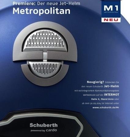 Schuberth M1: présentation imminente (vidéo)